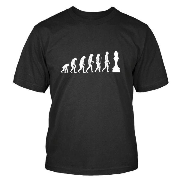 Schach Evolution T-Shirt