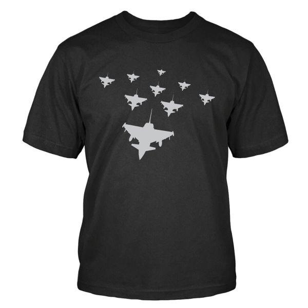 Eurofighter Typhoon V-Formation T-Shirt