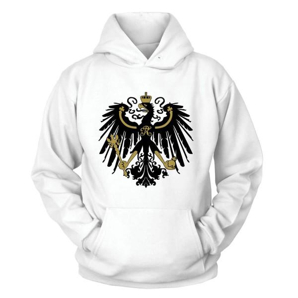Preußen Adler Kapuzenpullover