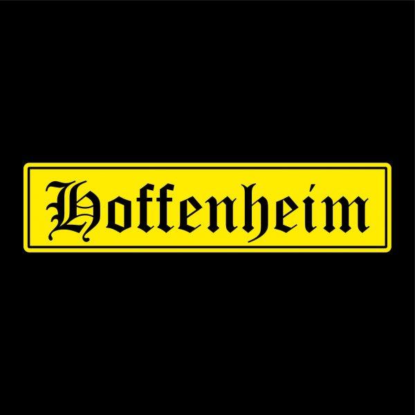 Hoffenheim Städte Auto Aufkleber Sticker 5cm x 21cm