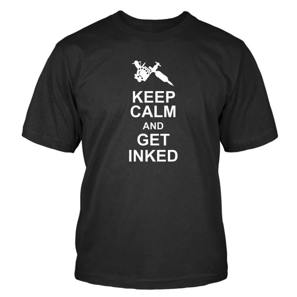 Keep Calm and Get Inked T-Shirt