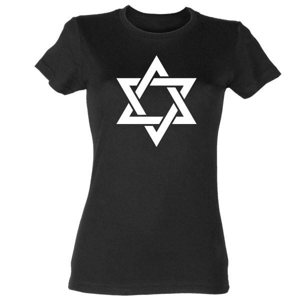 Davidstern Damen T-Shirt