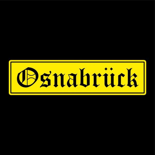 Osnabrück Städte Auto Aufkleber Sticker 5cm x 20cm
