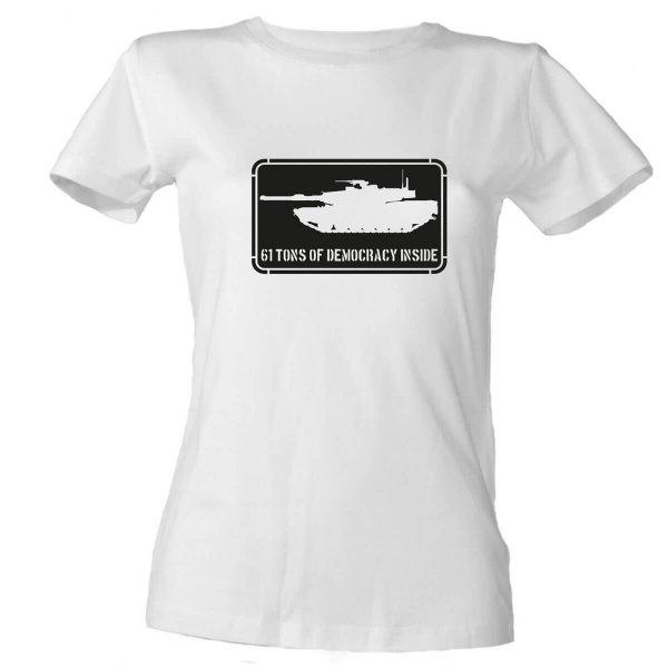 M1 Abrams Damen T-Shirt