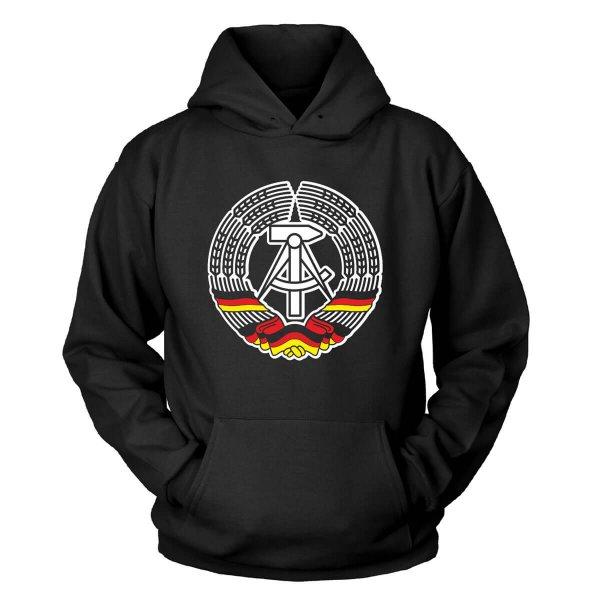 DDR Wappen Kapuzenpullover