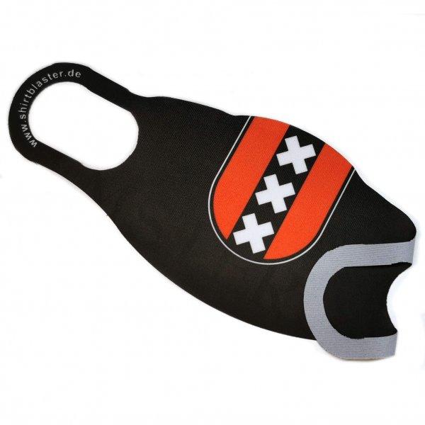 Maske Mund-Nasen-Bedeckung Stoffmaske Amsterdam waschbar S-L