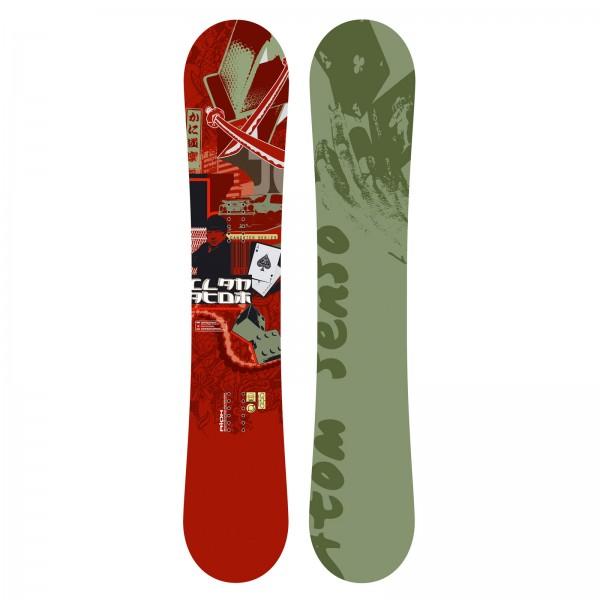 Freestyle Snowboard Atom Clan Holzkern Hochglanzdeck Carbon Sandwich