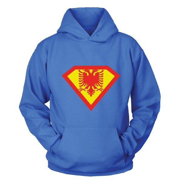 Albanien Superman Kapuzenpullover