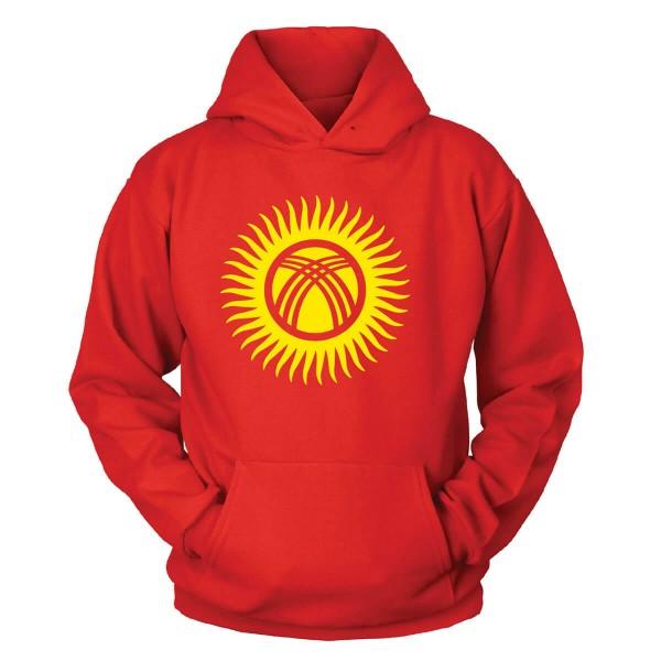 Kirgistan Kapuzenpullover