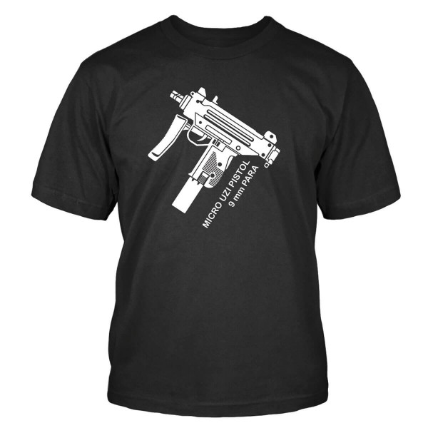 Micro Uzi 9mm T-Shirt