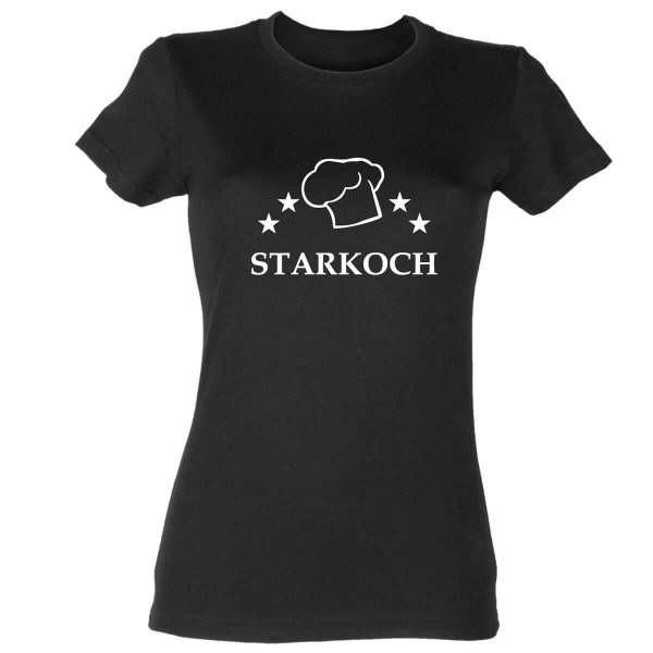 Starkoch Damen T-Shirt