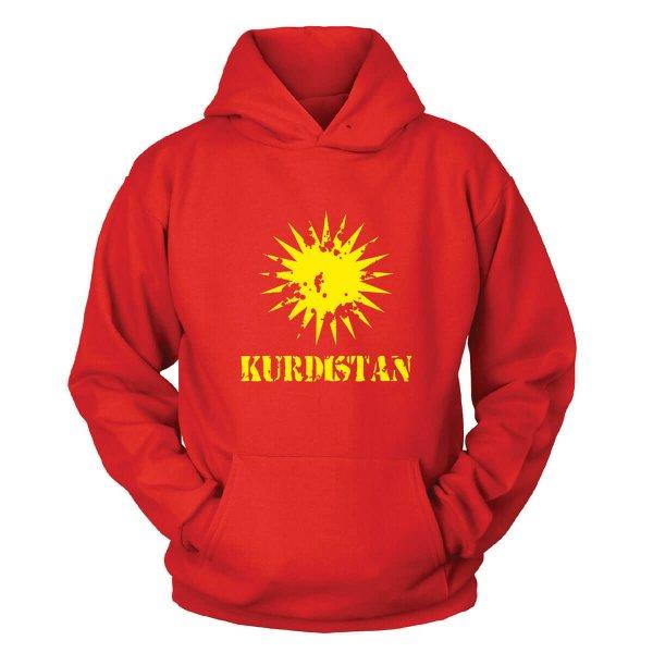 Kurdistan Kapuzenpullover
