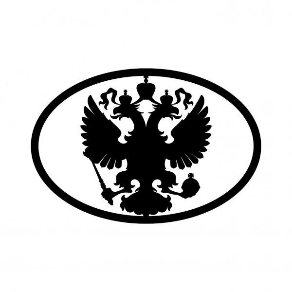 Russland Adler Aufkleber Autoaufkleber Sticker 15cm x 10cm