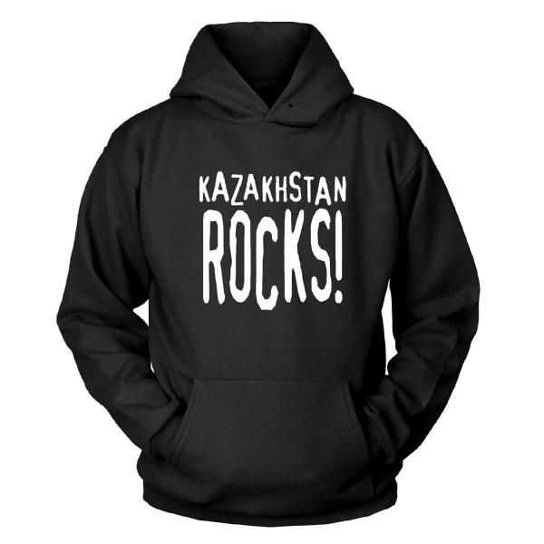 Kazakhstan Rocks Kapuzenpullover
