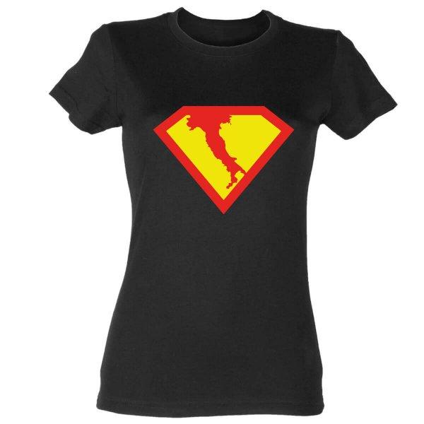 Supergirl Italien Damen T-Shirt