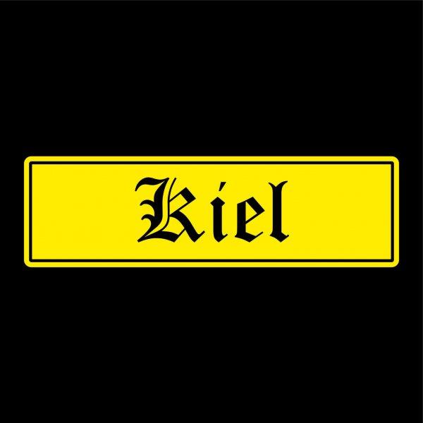 Kiel Städte Auto Aufkleber Sticker 5cm x 17cm