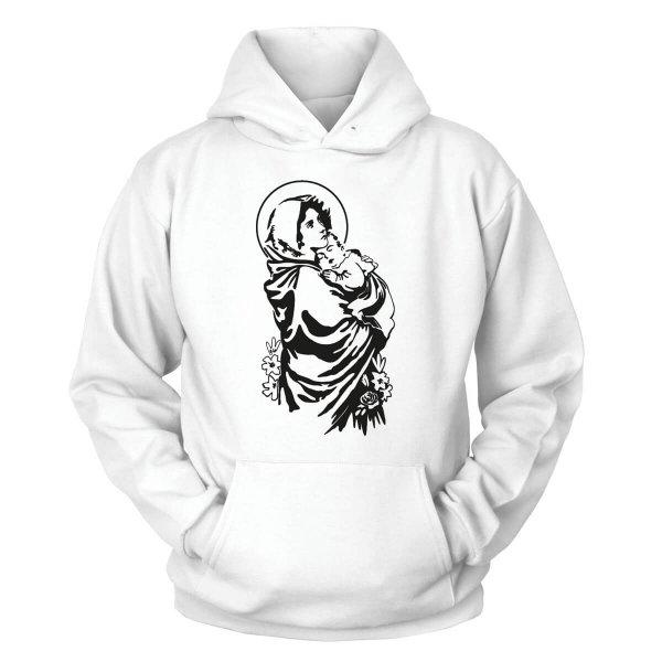 Jungfrau Maria Kapuzenpullover