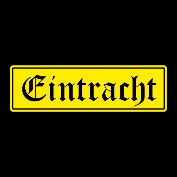 Eintracht Städte Auto Aufkleber Sticker 5cm x 17cm