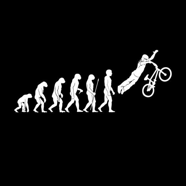 BMX Superman Trick Bike Evolution Aufkleber Sticker 31 x 12,5 cm