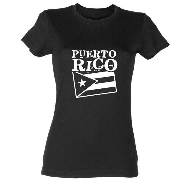 Puerto Rico Damen T-Shirt