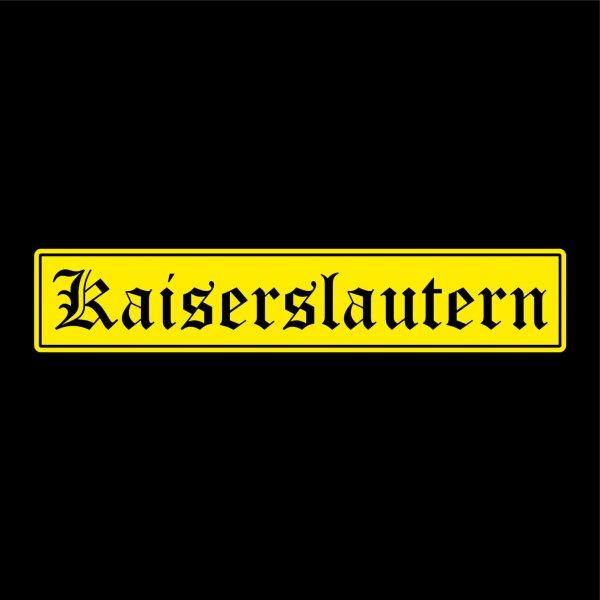 Kaiserslautern Städte Auto Aufkleber Sticker 5cm x 26cm