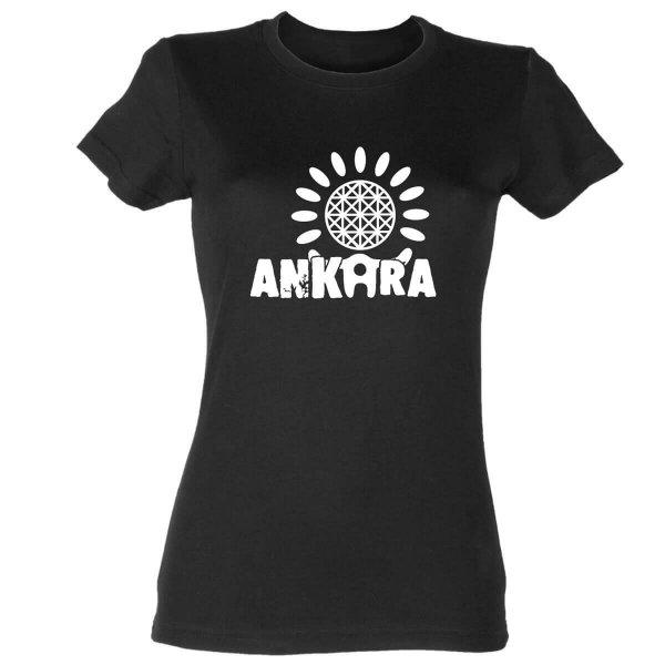 Ankara T-Shirt Damen T-Shirt