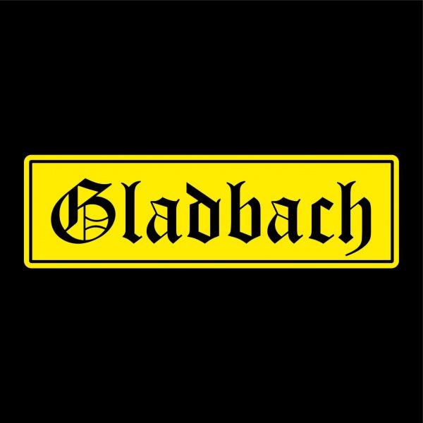 Gladbach Städte Auto Aufkleber Sticker 5cm x 17cm