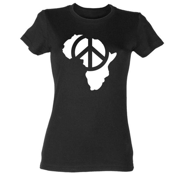 Afrika Peace Damen T-Shirt
