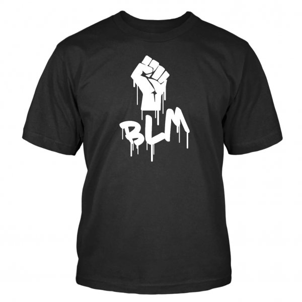 Protest T-Shirt BLM Black Lives Matter Floyd USA