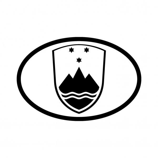 Slowenien Aufkleber Autoaufkleber Sticker 15cm x 10cm