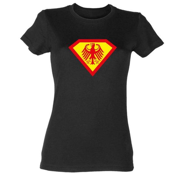 Supergirl Germany Damen T-Shirt