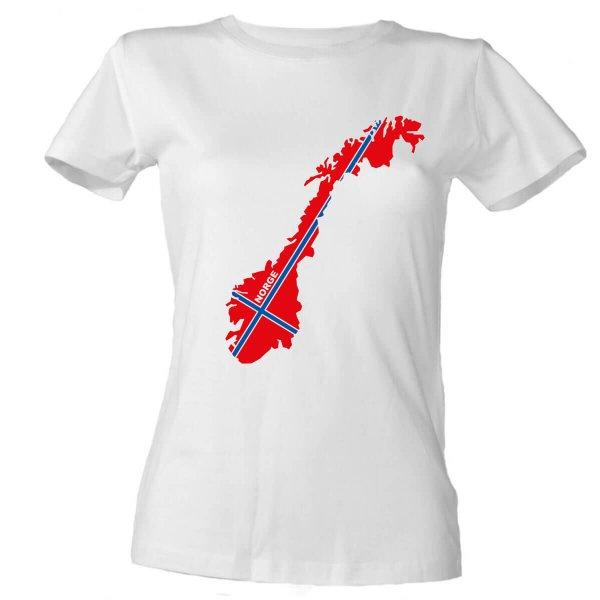 Norwegen Damen T-Shirt