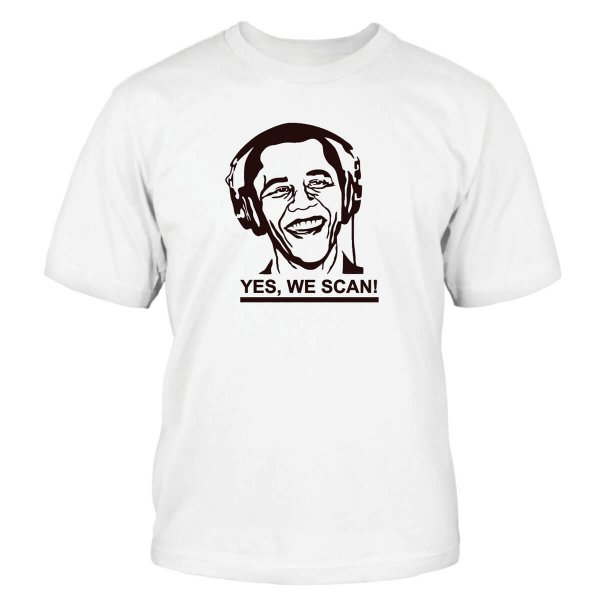 Yes, We Scan T-Shirt