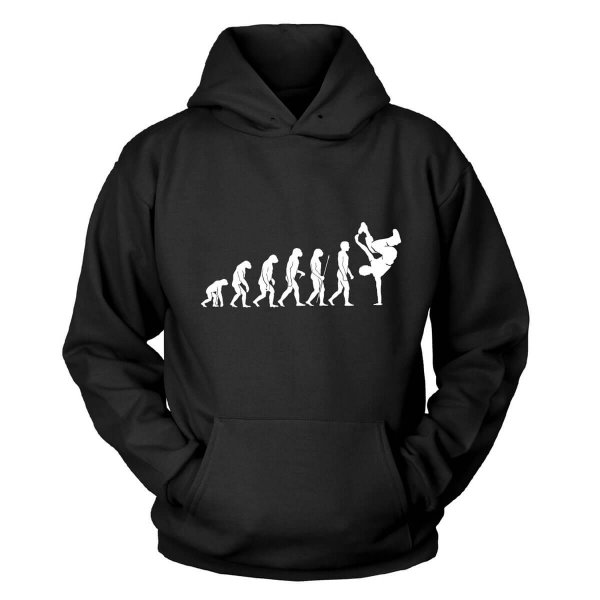 Breakdance Evolution Kapuzenpullover