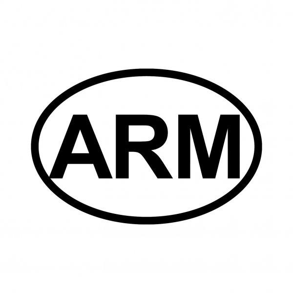 Armenien ARM Aufkleber Autoaufkleber Sticker 15cm x 10cm