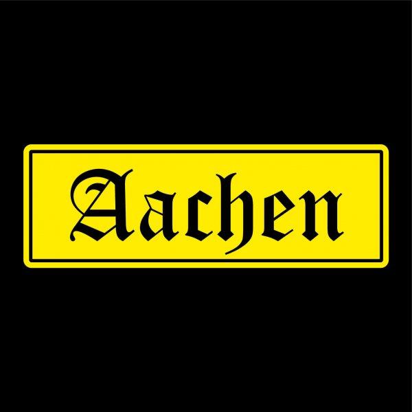 Aachen Auto Aufkleber Sticker 5cm x 15cm