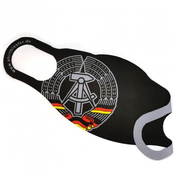 Maske Mund-Nasen-Bedeckung Stoffmaske DDR Ost Deutschland Germany waschbar S-L