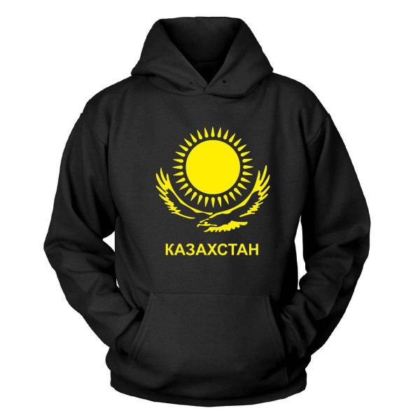 Kasachstan Kapuzenpullover