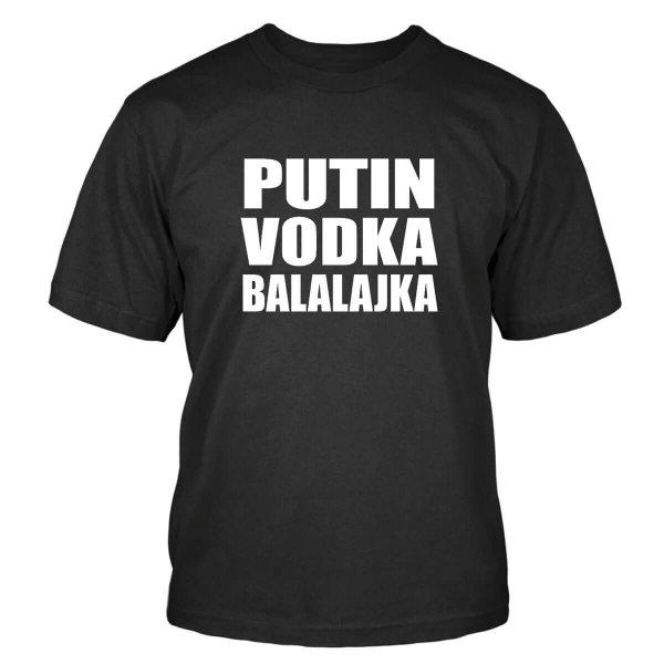 Putin Vodka Balalajka T-Shirt