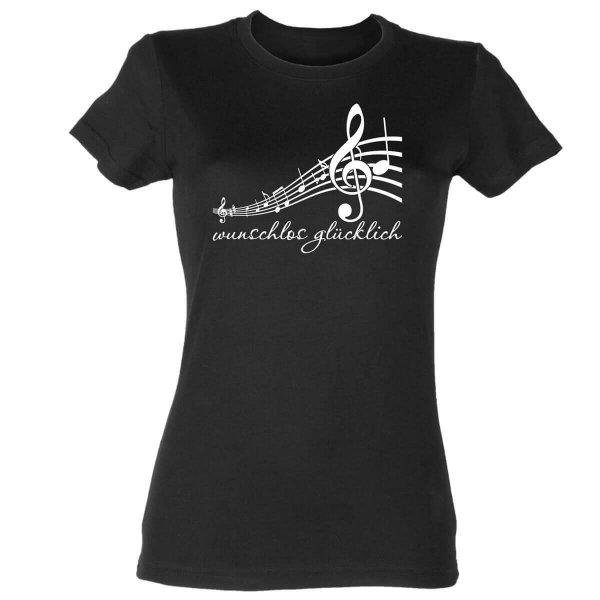 Notenschlüssel Damen T-Shirt