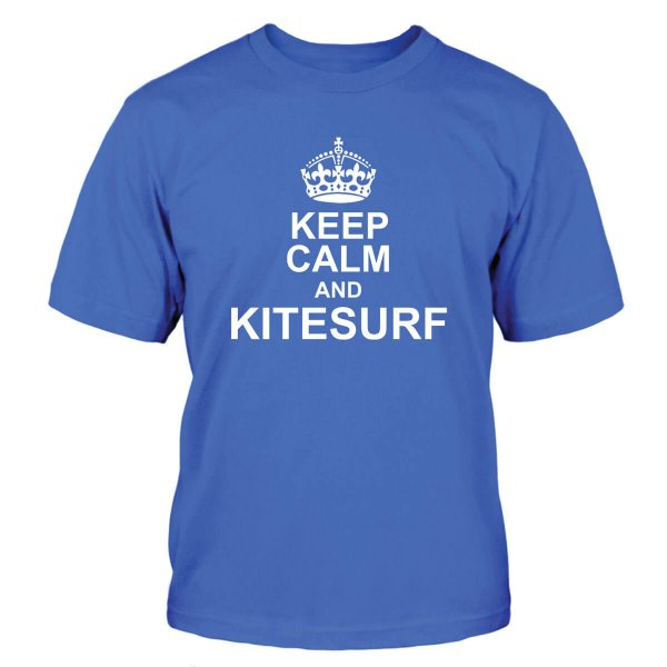 Keep Calm and Kitesurf T-Shirt