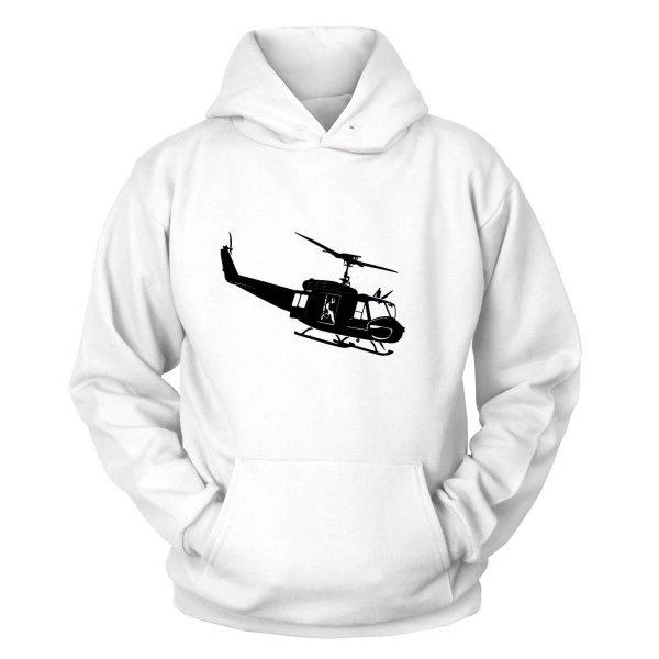 Helikopter UH-1H Kapuzenpullover