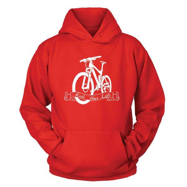 Fahrrad Kapuzenpullover