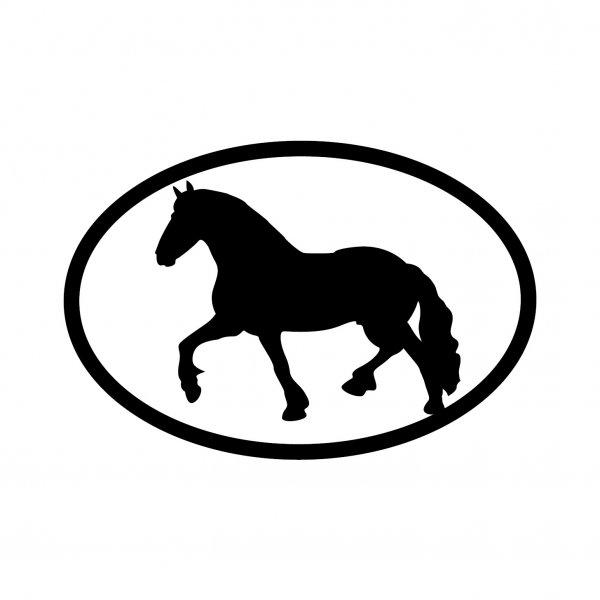 Pferd Horse Aufkleber Autoaufkleber Sticker 15cm x 10cm