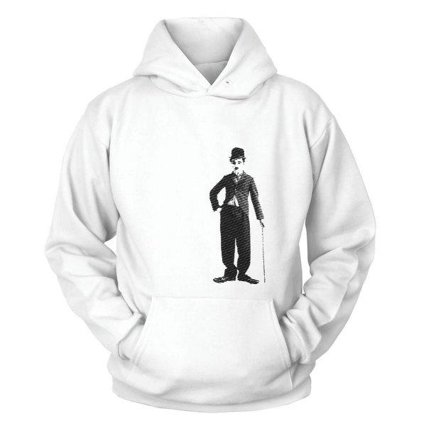 Charlie Chaplin Kapuzenpullover