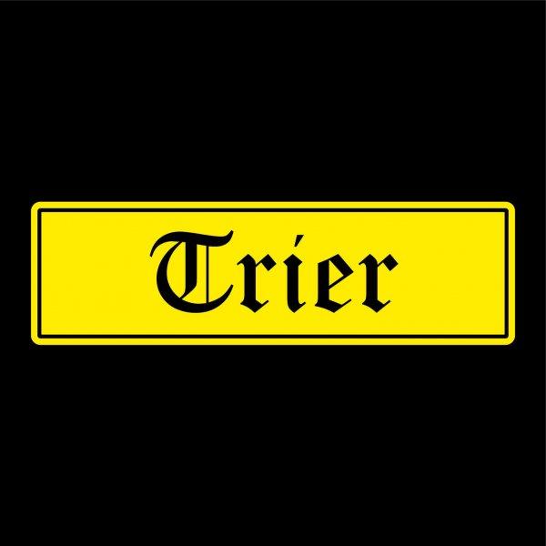 Trier Städte Auto Aufkleber Sticker 5cm x 17cm