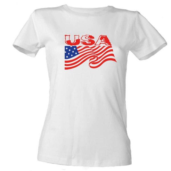 USA Damen T-Shirt