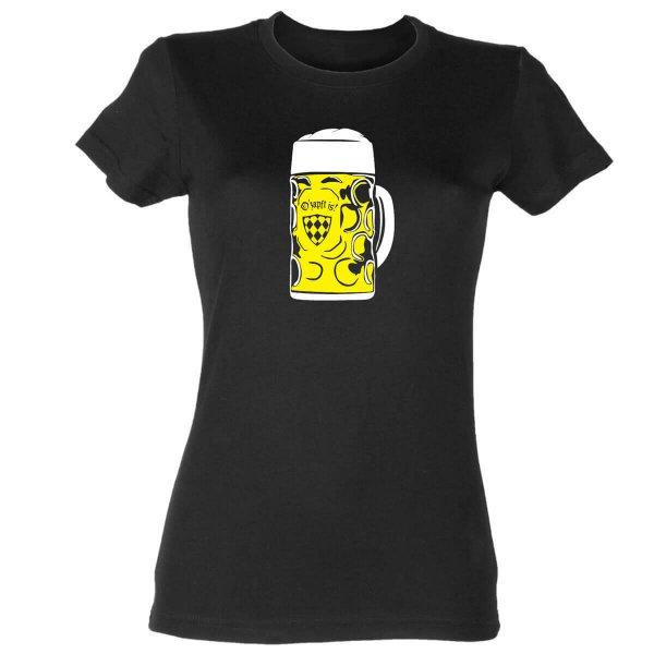 Oktoberfest Bier Damen T-Shirt