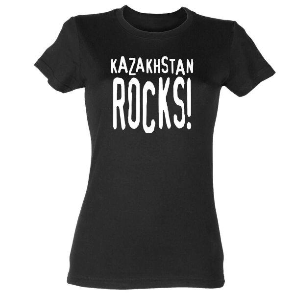 Kazakhstan rocks Damen T-Shirt