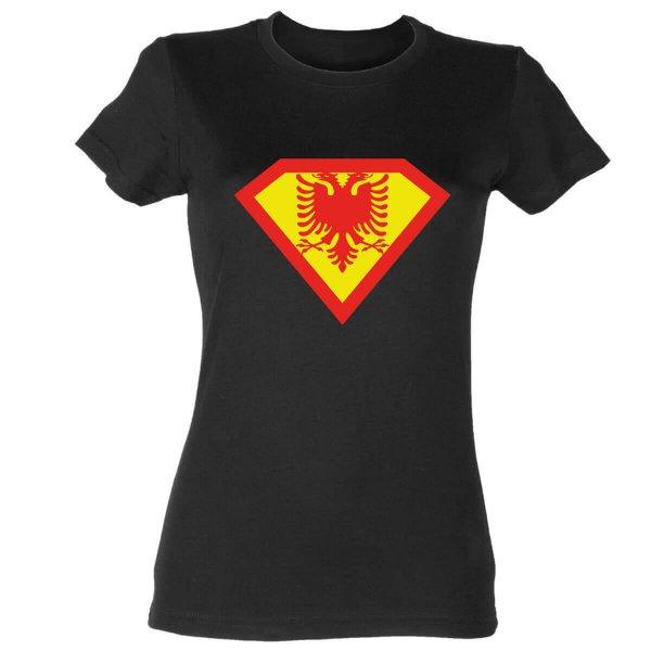 Supergirl Albanien Damen T-Shirt